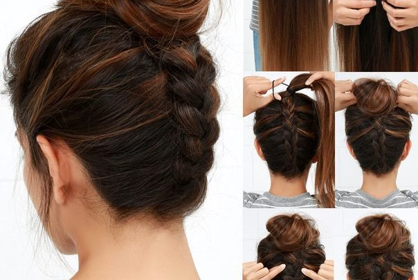 Идеи причёсок. Фото-уроки.